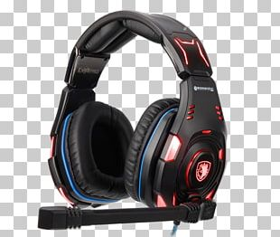 Microphone Noise-cancelling Headphones Audio Surround Sound PNG