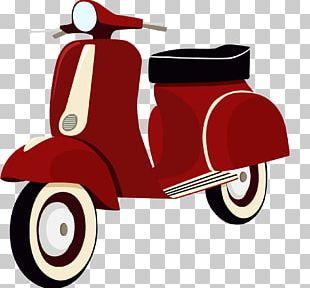 Scooter Motorcycle Helmet Vespa PNG