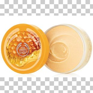 The Body Shop Exfoliation ボディバター Moisturizer Cream PNG