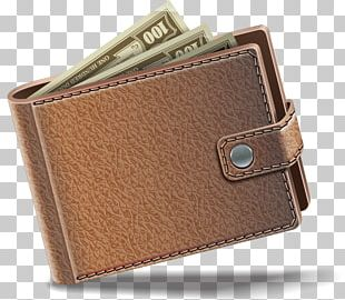 Wallet Leather Coin Purse Handbag PNG