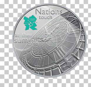 Big Ben Coin 2012 Summer Olympics Fifty Pence Two Pounds PNG