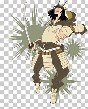 Japan Samurai Bushido Illustration PNG