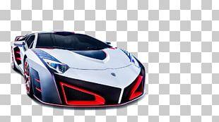 Sports Car Lamborghini Aventador Luxury Vehicle PNG