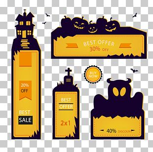 Halloween Banner Poster Advertising PNG