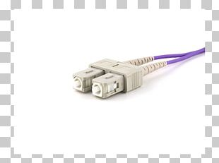 Serial Cable Electrical Connector Multi-mode Optical Fiber Electrical Cable PNG