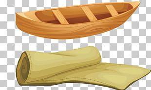 Canoe Boat Wood Fototapeta PNG