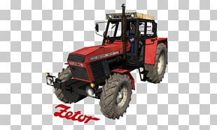 Tractor Car Heavy Machinery Motor Vehicle PNG