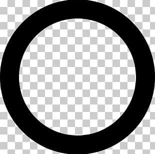 Black Circle Map PNG