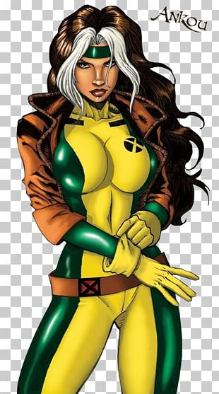 Rogue Kitty Pryde X-Men Professor X Comics PNG