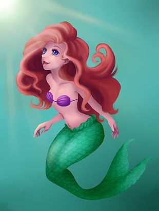 Ariel The Prince The Little Mermaid Drawing PNG