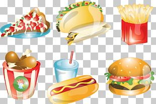 Fast Food Mexican Cuisine Hamburger French Fries Junk Food PNG