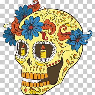 La Calavera Catrina Skull Day Of The Dead Skeleton PNG