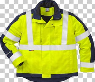 High-visibility Clothing T-shirt Jacket Workwear PNG