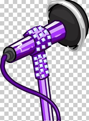 Club Penguin Microphone Photography PNG