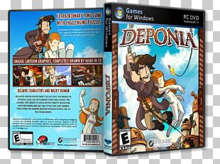 Deponia PC Game Video Game Germany PNG