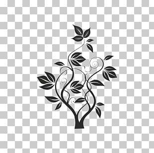 Flower Brush Floral Design PNG