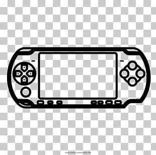 Video Game Console Accessories Drawing PlayStation Portable Coloring Book PNG