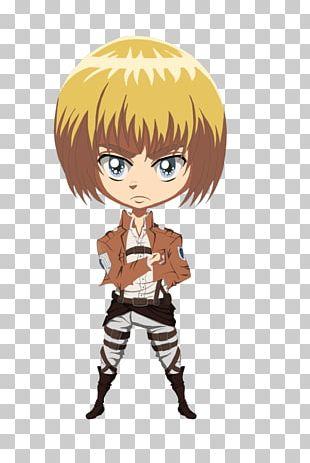 Armin Arlert Eren Yeager Mikasa Ackerman Hange Zoe Anime PNG