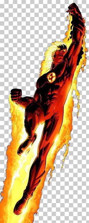 Human Torch Iron Man Captain America Spider-Man Superhero PNG