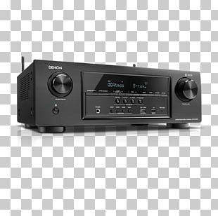 AV Receiver 4K Resolution Denon Ultra-high-definition Television Video PNG