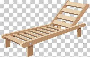 Chaise Longue Deckchair Sunlounger PNG