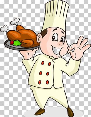 Roast Chicken Chef Cooking PNG