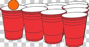 Beer Pong Game Drink Distilled Beverage PNG