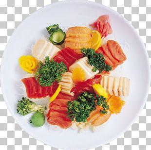 Sashimi Sushi Japanese Cuisine Seafood Smoked Salmon PNG
