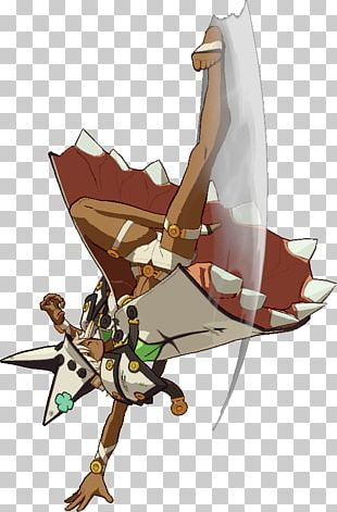 Guilty Gear Xrd Ramlethal Valentine Arcade Game Sprite PNG