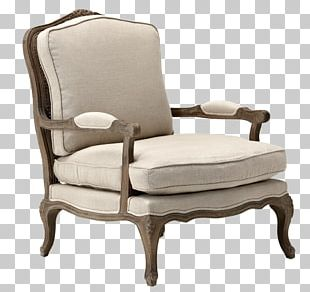 Club Chair Furniture Wing Chair Foot Rests PNG