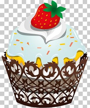 Frosting & Icing Birthday Cupcake Chocolate Cake PNG