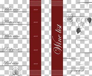 Menu Page Layout Adobe Illustrator PNG