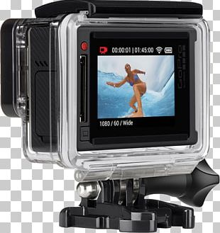 Action Camera GoPro Video Camera 4K Resolution PNG