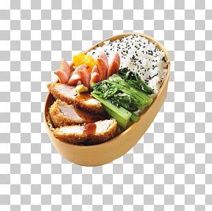 Bento Japanese Cuisine Crispy Fried Chicken Tonkatsu PNG