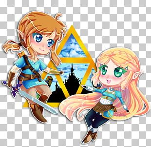 The Legend Of Zelda: Breath Of The Wild Link Triforce Of Courage PNG