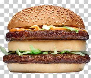 Cheeseburger Buffalo Burger Whopper Hamburger McDonald's Big Mac PNG