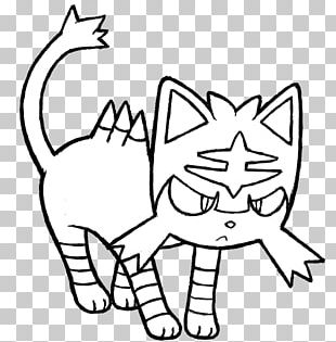 Coloring Book Whiskers Colouring Pages Pokémon Sun And Moon PNG