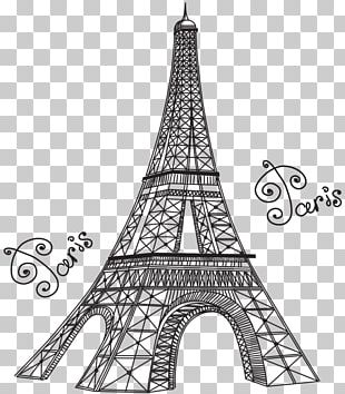 Eiffel Tower Statue Of Liberty Drawing PNG