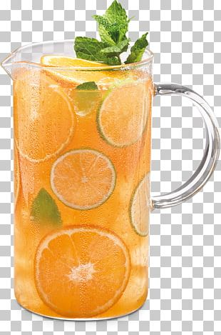 Orange Drink Iced Tea Cocktail Orange Juice PNG