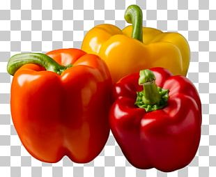 Bell Pepper Vegetable Chili Pepper Food Vegetarian Cuisine PNG