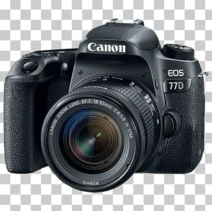 Canon EOS 800D Canon EOS 77D Canon EOS 200D Canon EOS 70D Canon EF-S 18–55mm Lens PNG