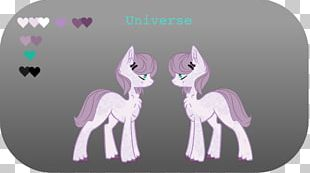 Pony Horse Cartoon Pink M PNG