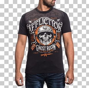 T-shirt Affliction Clothing Hoodie PNG