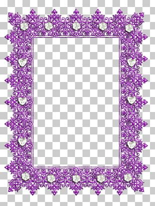 Frames Purple Decorative Arts PNG