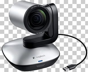Pan–tilt–zoom Camera Full HD Webcam 1920 X 1080 Pix Logitech PTZ Pro Camera Stand 1080p PNG