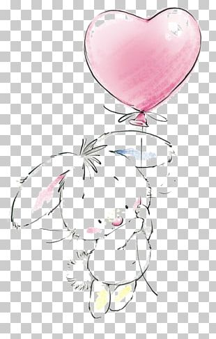 Easter Bunny Birthday Cake Rabbit Drawing PNG