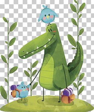 Crocodile Animal Euclidean PNG