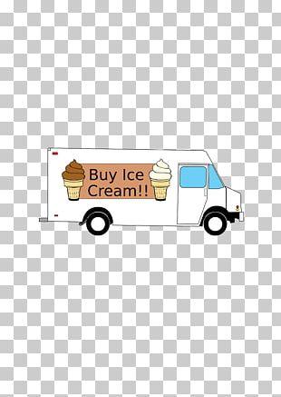 Ice Cream Cones Car Chocolate Ice Cream Truck PNG