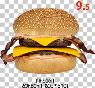 Cheeseburger Hamburger Buffalo Burger Breakfast Sandwich Veggie Burger PNG