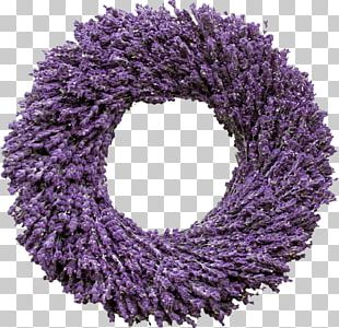 English Lavender French Lavender Wreath Flower PNG